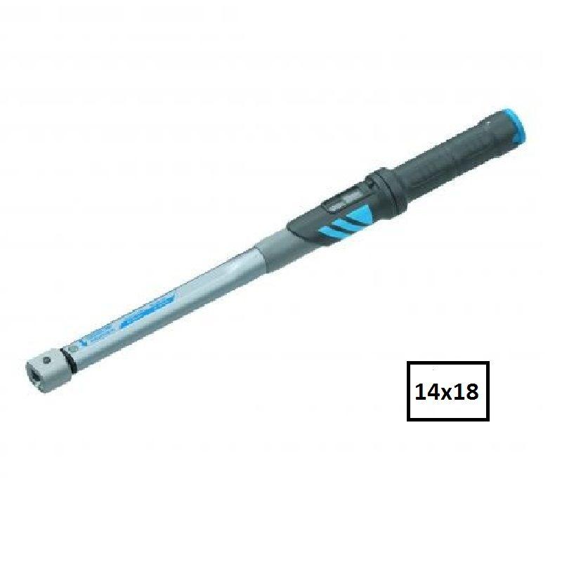"""Torquímetro de Estalo Dremaster """"DMSE""""  - Enc. 14 x 18 mm  -  40 a 200 Nm (30-150 Lbf.pé) - DMSE 200 - Gedore"""