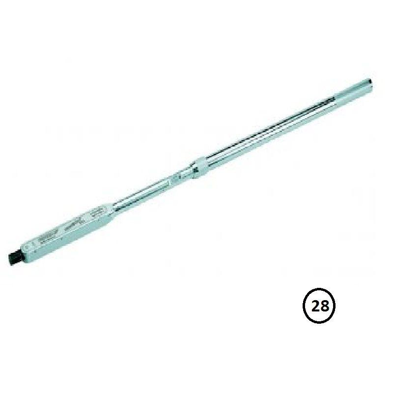 """Torquímetro de Estalo Dremometer """" DXZ """" - Enc. Redondo 28 mm - 520 a 1000 Nm (380-730 Lbf.pé) - 8471-01 - Gedore"""
