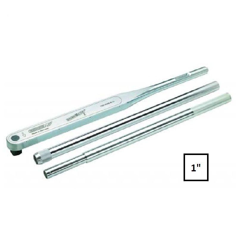 """Torquímetro de Estalo Dremometer """" E """" - Enc. ■ 1"""" (25,40 mm)  - 750 a 2000 Nm - 8564-01 - Gedore"""