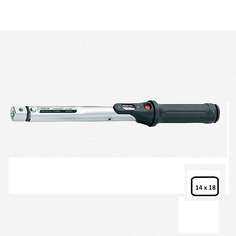Torquímetro de Estalo Torcofix SE  enc. 14  X 18 - 40 a 200 Nm (30-150 Lbf.pé) - 4201-01 - Gedore