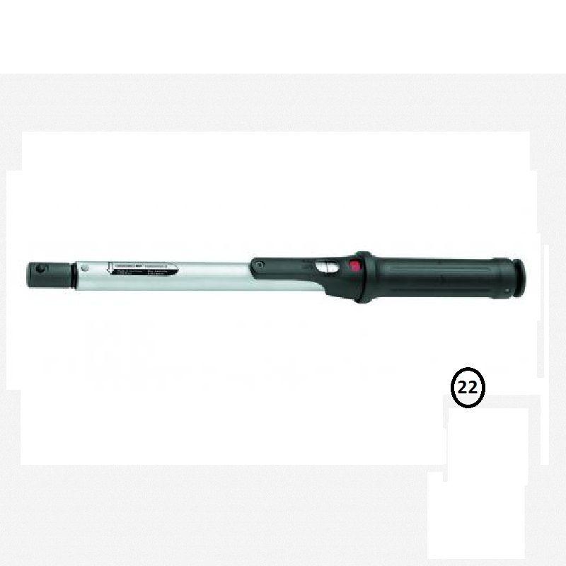 Torquímetro de Estalo Torcofix Z  enc. Ø 22 mm - 250 a 850 Nm (185-630Lbf.pé) - 4485-01 - Gedore