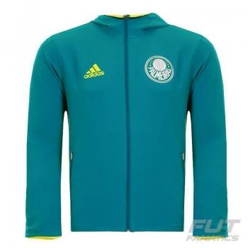 Agasalho Adidas Palmeiras Viagem 2016 Verde