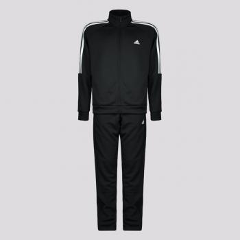 Agasalho Adidas Sereno Juvenil Preto