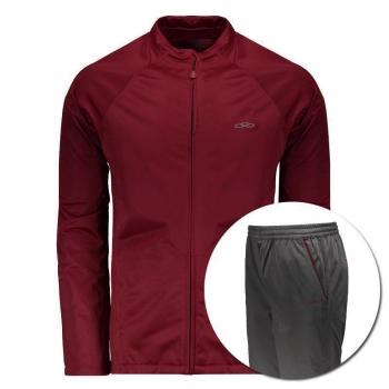 Agasalho Olympikus Essential Red