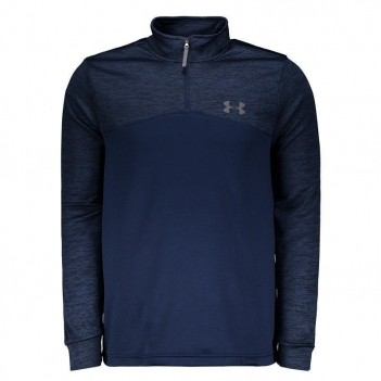 Blusão Under Armour Fleece Zip Marinho