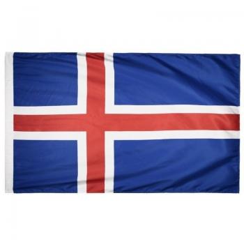 Bandeira Islândia Torcedor 2 Panos