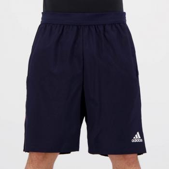Bermuda Adidas 4K 3 Listras Marinho