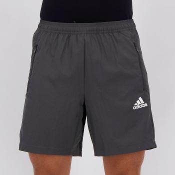 Bermuda Adidas D2M Stripes Cinza