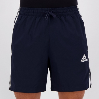 Bermuda Adidas Essentials Chelsea 3S Marinho