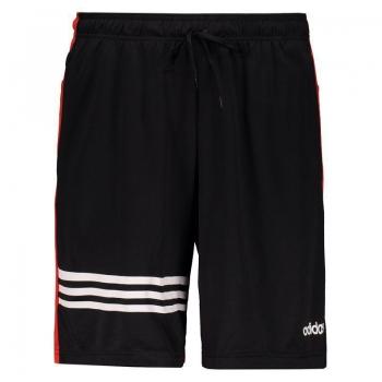 Bermuda Adidas PLN Preta e Vermelha