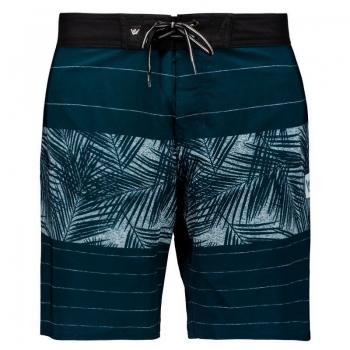 Bermuda Hang Loose Palm Azul
