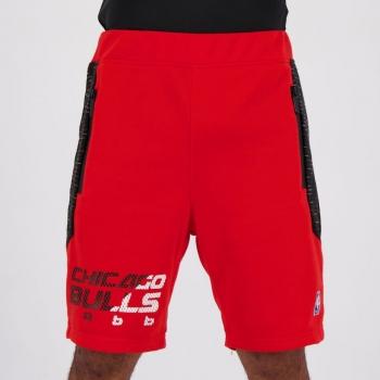 Bermuda Moletom NBA Chicago Bulls Vermelha