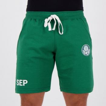 Bermuda Moletom Palmeiras Authentic Verde