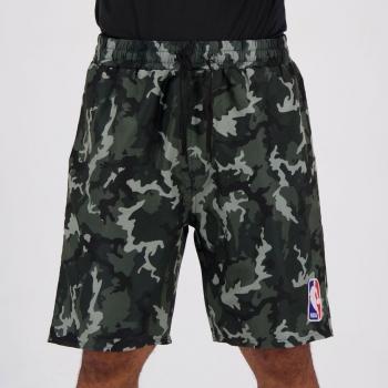 Bermuda NBA Essential Camuflada Chumbo
