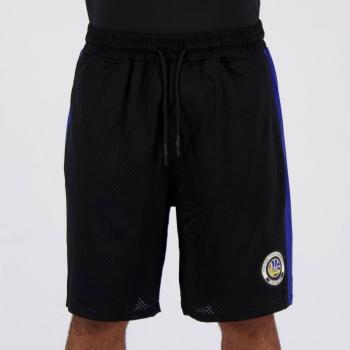 Bermuda NBA Golden State Warriors Twist Preta e Azul
