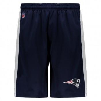 Bermuda New Era NFL New England Patriots Marinho e Branca