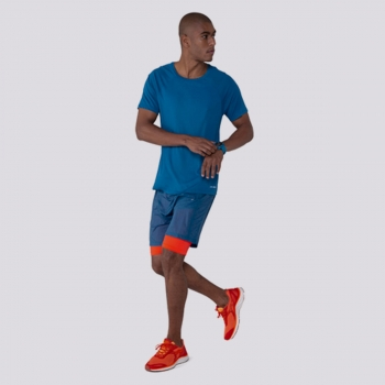 Bermuda Olympikus Runner Azul
