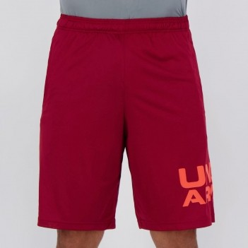 Bermuda Under Armour Tech Wordmark Vinho
