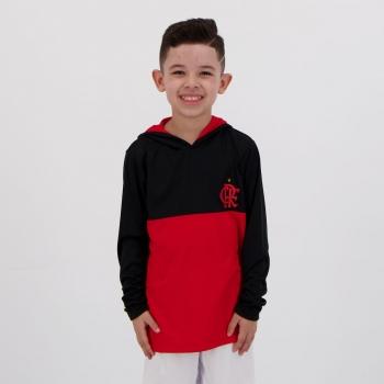 Blusão Flamengo Reserve Infantil Preto