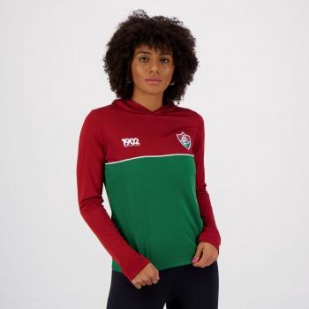 Blusão Fluminense Reserve Feminino Vinho