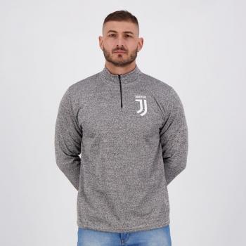 Blusão Juventus Heavy Cinza Mescla