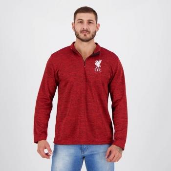 Blusão Liverpool Authentic Vermelho Mescla