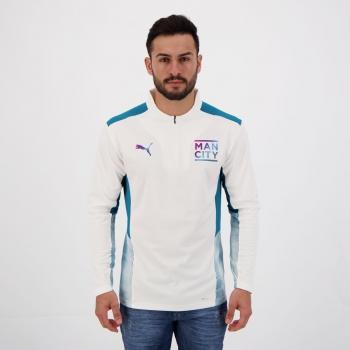 Blusão Puma Manchester City Training Branco