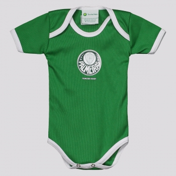 Body Palmeiras Basic Verde