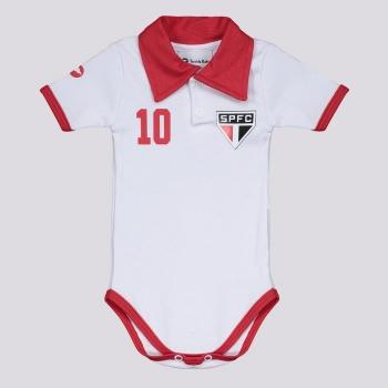 Body São Paulo II Branco e Vermelho