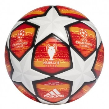 Bola Adidas Finale UCL Top Train Laranja