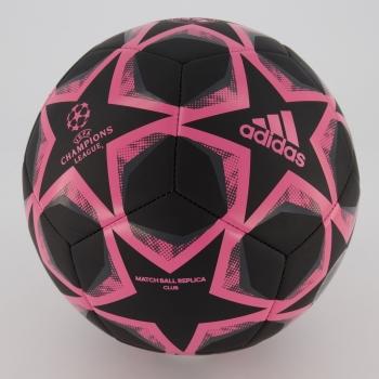 Bola Adidas Real Madrid UCL Finale 20 Club Preta e Rosa