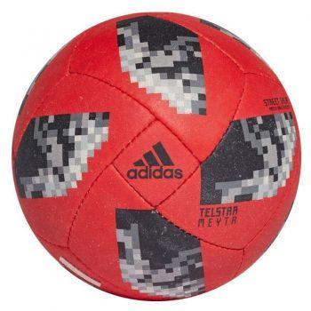 Bola Adidas Telstar 18 Futsal Vermelha
