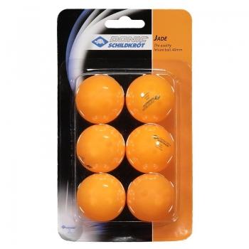 Kit bolas tênis de mesa Donic Jade 6 Unidades Laranja