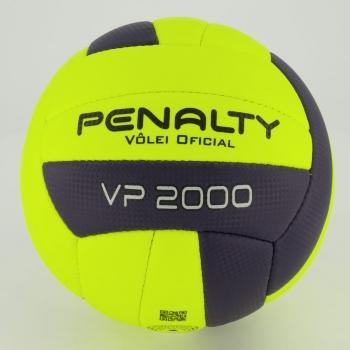 Bola de Vôlei Penalty VP 2000 X Amarela e Marinho