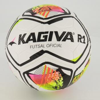 Bola Kagiva R1 Futsal Branca e Amarela