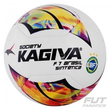 Bola Kagiva S7 Brasil Sintética Society