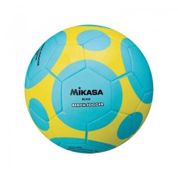 Bola Beach Soccer Mikasa BC450 Azul e Amarela