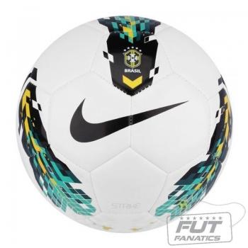 Bola Nike Strike CBF Campo Brasileirão 2014 Branca