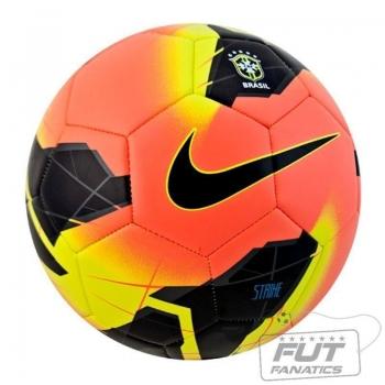 Bola Nike Strike CBF Campo Brasileirão 2014 Laranja