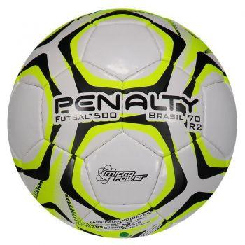 Bola Penalty Brasil 70 500 R2 IX Futsal Amarela