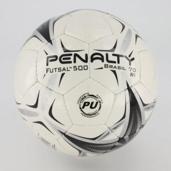 Bola Penalty Brasil 70 R1 X Futsal Branca e Preta