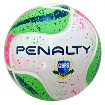 Bola Penalty Max 200 Termotec VI Futsal Branca e Verde