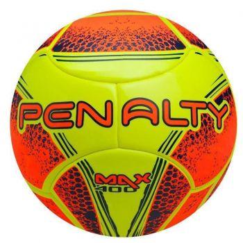 Bola Penalty Max 400 Temotec VIII Futsal Amarela