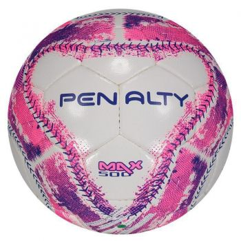 Bola Penalty Max 500 Futsal Rosa