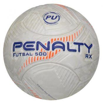 Bola Penalty RX Fusion Vlll Futsal Laranja