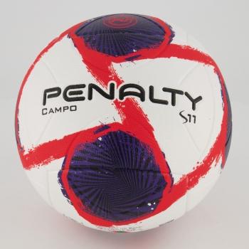 Bola Penalty S11 R2 II XXI Campo Branca e Vermelha