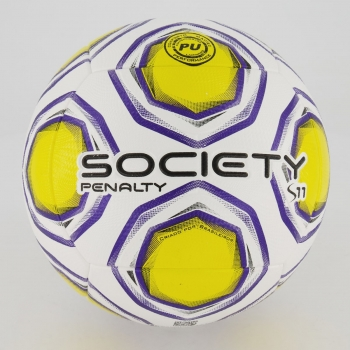 Bola Penalty S11 R2 XXI Society Branca e Amarela