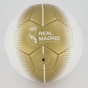 Bola Real Madrid Dioses 20 Campo Branca e Dourada