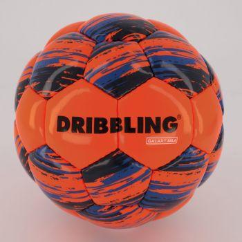Bola Sportcom Galaxy Futsal Laranja e Azul