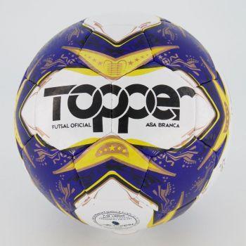Bola Topper Asa Branca II Futsal Branca e Azul
